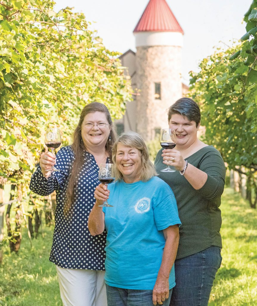 Picture of With an eye on the future, the women at Horton Vineyards carry on a family legacy