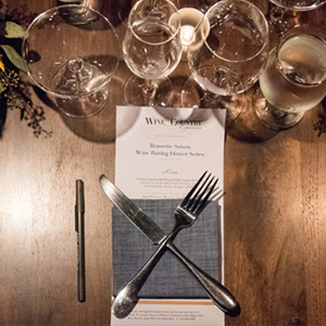 Picture of Wine & Country Hosts Wine-Paired Dinner in New Food and Wine Series