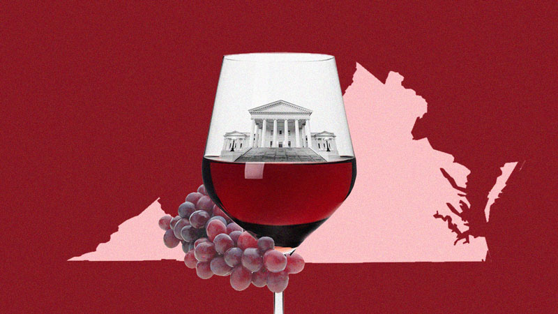 Picture of Five of the Best Virginia Wines Right Now